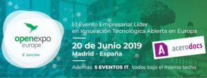 Próxima parada: OpenExpo Europe 2019