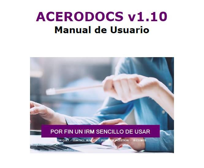 Manual de Usuario Acerodocs v1.10
